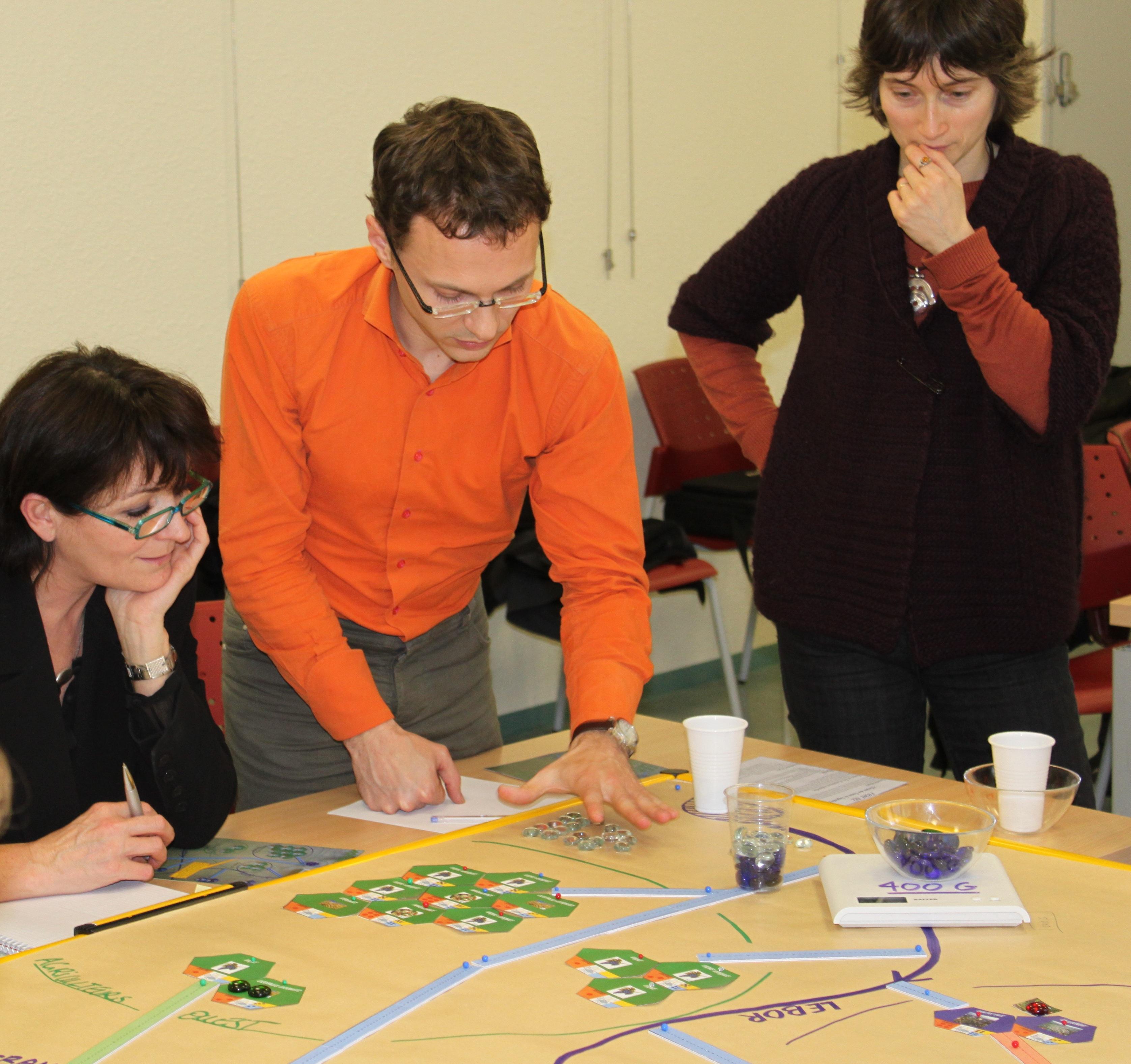 2011 test jeu de rôles SIMULEAU sur gouvernance de l'eau à l'échelle interSAGE